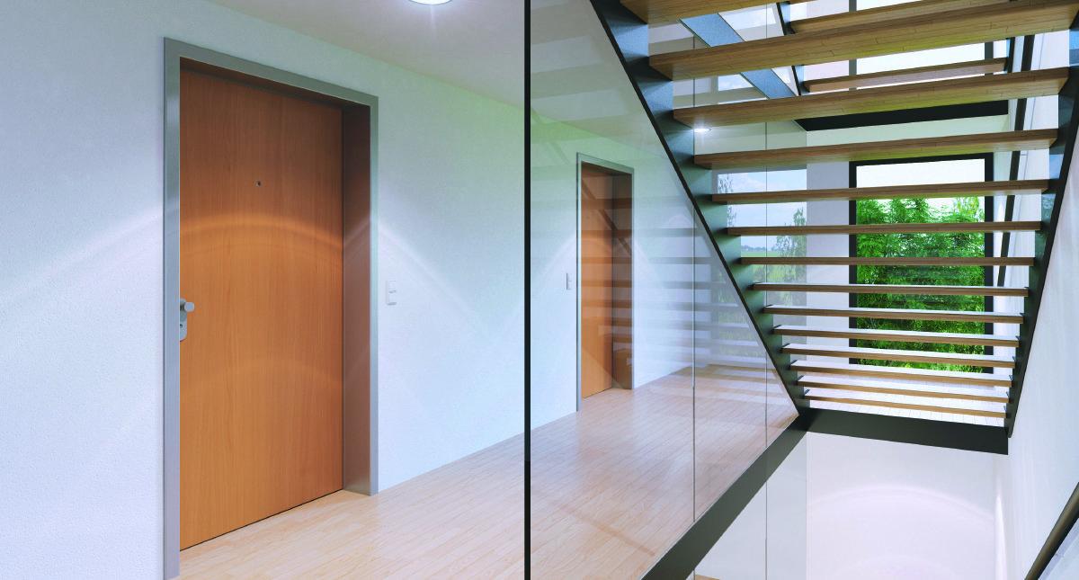 Stahlzarge Oder Holzzarge wohnungseingangstüren in haan bei düsseldorf